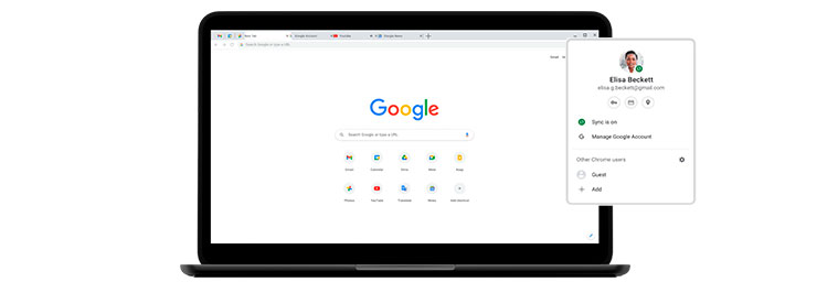Chrome account