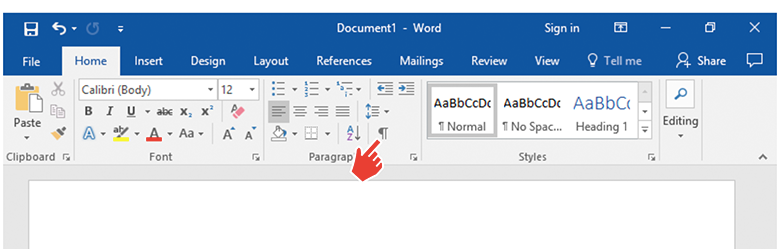 How To Delete A Page In Word paragraph mark