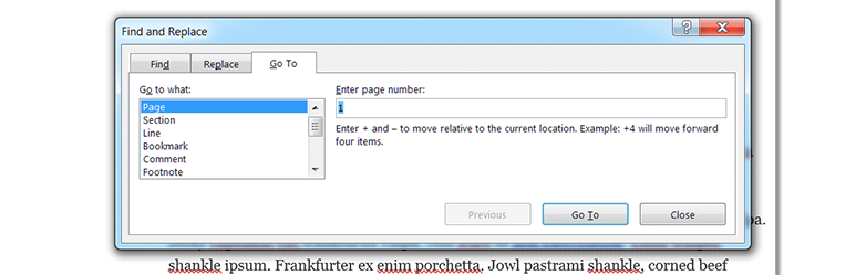 How To Delete A Page In Word - go to